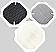 Filterpaket von 3 Filtern für WDH-H600A