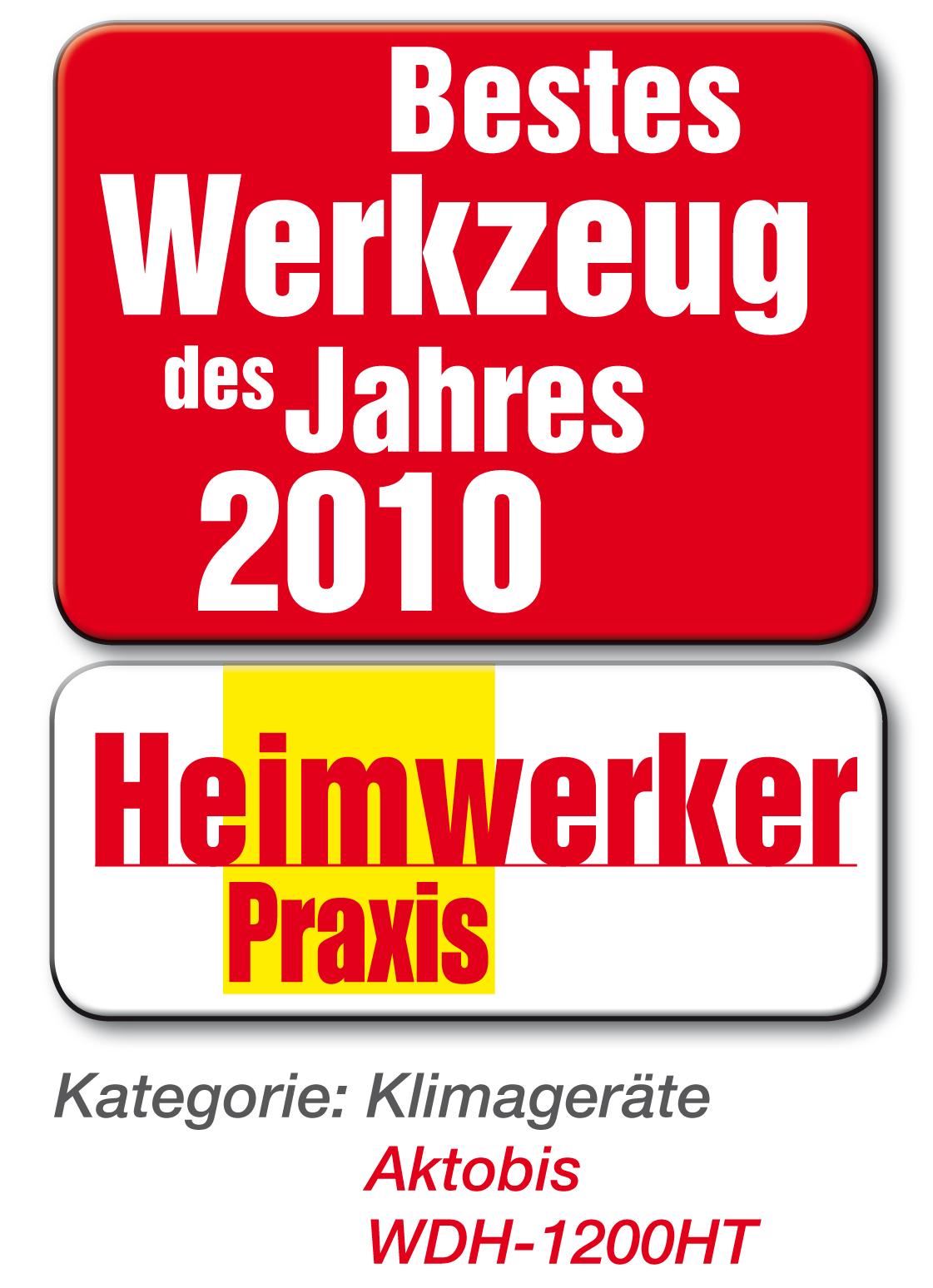 Auszeichnung Heimwerker Praxis